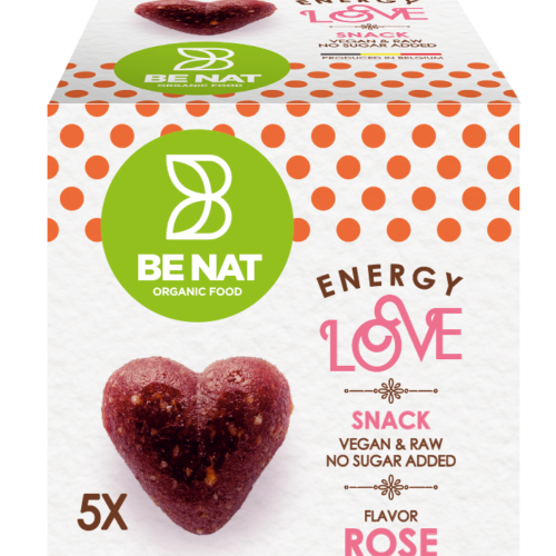 Energy love Rose Be-Nat packaging